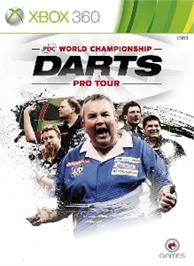 Box cover for PDC World Championship Darts: Pro Tour on the Microsoft Xbox 360.