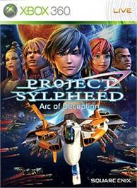 Box cover for PROJECT SYLPHEED on the Microsoft Xbox 360.