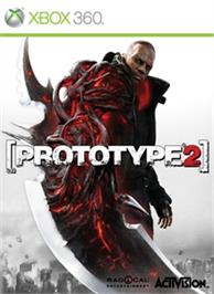 Box cover for PROTOTYPE 2 on the Microsoft Xbox 360.