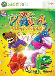 Box cover for Party Animals on the Microsoft Xbox 360.