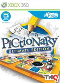 Box cover for Pictionary: Ultimate Edition on the Microsoft Xbox 360.