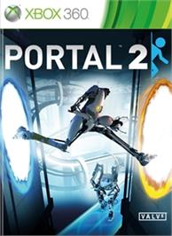 Box cover for Portal 2 on the Microsoft Xbox 360.