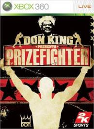 Box cover for Prizefighter on the Microsoft Xbox 360.