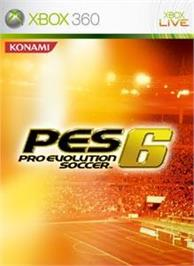 Box cover for Pro Evolution Soccer 6 on the Microsoft Xbox 360.