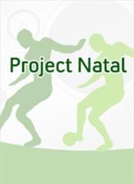 Box cover for Project Natal on the Microsoft Xbox 360.