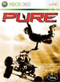 Box cover for Pure on the Microsoft Xbox 360.