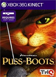 Box cover for Puss in Boots on the Microsoft Xbox 360.