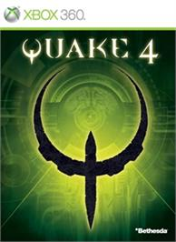 Box cover for QUAKE 4 on the Microsoft Xbox 360.