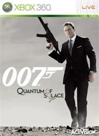 Box cover for Quantum of Solace on the Microsoft Xbox 360.