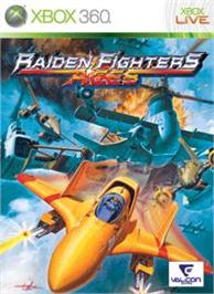 Box cover for RAIDEN FIGHTERS ACES on the Microsoft Xbox 360.