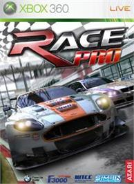 Box cover for Race Pro on the Microsoft Xbox 360.