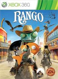 Box cover for Rango on the Microsoft Xbox 360.