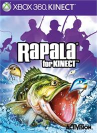 Box cover for Rapala® for Kinect on the Microsoft Xbox 360.