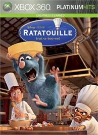 Box cover for Ratatouille on the Microsoft Xbox 360.