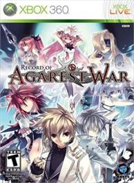 Box cover for Record of Agarest War on the Microsoft Xbox 360.