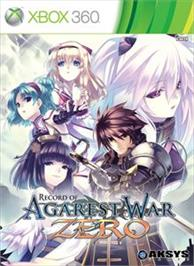 Box cover for Record of Agarest War Zero on the Microsoft Xbox 360.