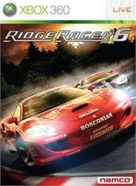 Box cover for Ridge Racer 6 on the Microsoft Xbox 360.