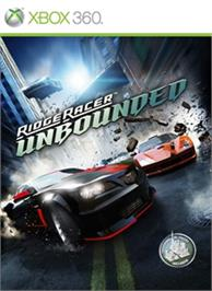 Box cover for Ridge Racer Unbounded on the Microsoft Xbox 360.