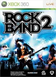 Box cover for Rock Band 2 on the Microsoft Xbox 360.