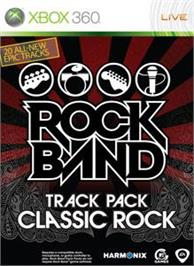 Box cover for Rock Band Classic Rock on the Microsoft Xbox 360.