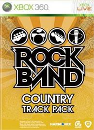Box cover for Rock Band Country Pack on the Microsoft Xbox 360.