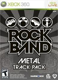 Box cover for Rock Band Metal Pack on the Microsoft Xbox 360.