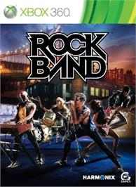 Box cover for Rock Band Music Store on the Microsoft Xbox 360.