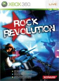 Box cover for Rock Revolution on the Microsoft Xbox 360.