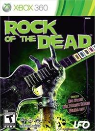 Box cover for Rock of the Dead on the Microsoft Xbox 360.