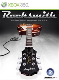 Box cover for Rocksmith on the Microsoft Xbox 360.