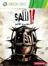 Box cover for SAW II on the Microsoft Xbox 360.