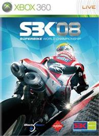 Box cover for SBK®08 on the Microsoft Xbox 360.