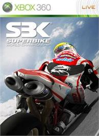 Box cover for SBK09 on the Microsoft Xbox 360.