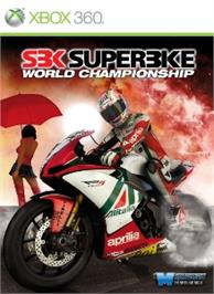 Box cover for SBK on the Microsoft Xbox 360.