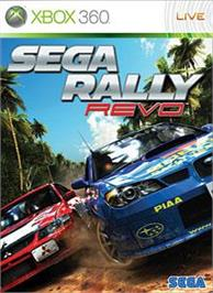 Box cover for SEGA Rally on the Microsoft Xbox 360.