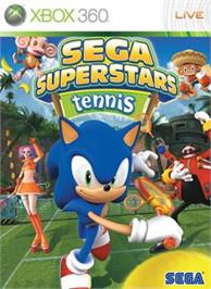 Box cover for SEGA Superstars Tennis on the Microsoft Xbox 360.
