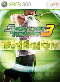 Box cover for SMASH COURT TENNIS 3 on the Microsoft Xbox 360.