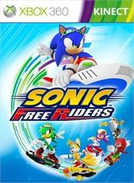 Box cover for SONIC FREE RIDERS on the Microsoft Xbox 360.