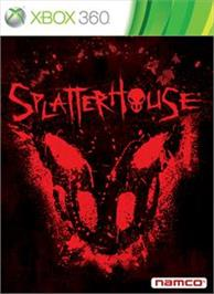 Box cover for SPLATTERHOUSE® on the Microsoft Xbox 360.