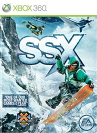 Box cover for SSX on the Microsoft Xbox 360.