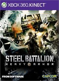 Box cover for STEEL BATTALION HEAVY ARMOR on the Microsoft Xbox 360.