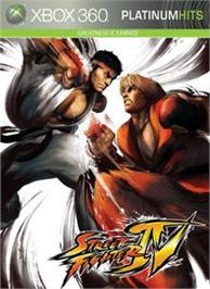 Box cover for STREET FIGHTER IV on the Microsoft Xbox 360.