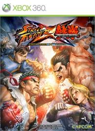Box cover for STREET FIGHTER X TEKKEN on the Microsoft Xbox 360.