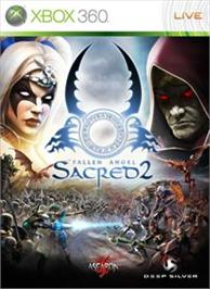 Box cover for Sacred 2 Fallen Angel on the Microsoft Xbox 360.