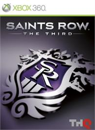 Box cover for Saints Row®: The Third on the Microsoft Xbox 360.