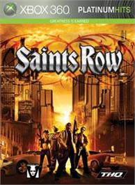 Box cover for Saints Row on the Microsoft Xbox 360.