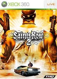 Box cover for Saints Row 2 on the Microsoft Xbox 360.