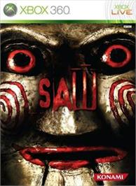 Box cover for Saw on the Microsoft Xbox 360.