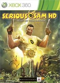 Box cover for Serious Sam HD: The First and Second Encounters on the Microsoft Xbox 360.
