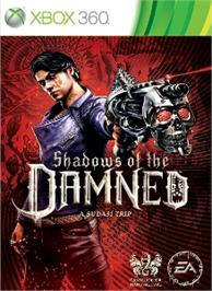 Box cover for Shadows of the Damned on the Microsoft Xbox 360.